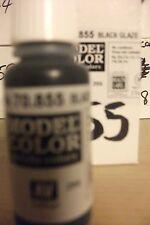 acrilico Colori 17ml BOTTIGLIA val855 AV Vallejo Model Color - nero smalto