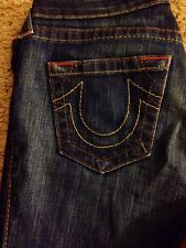 True Religions Size 28 Bootcut Jeans