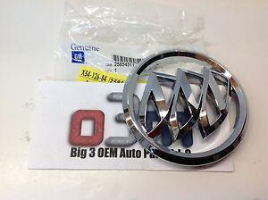 08-13 Buick Enclave 08-12 Lucerne Tri-Shield Front Grille Chrome EMBLEM new OEM