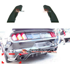 Rear Bumper Chin Splitters Canard Spoiler Air Wing for Ford Mustang 2015-2016