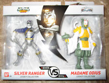POWER RANGERS LEGACY COLLECTION FIGURE 2 PACK WILD FORCE SILVER MADAME ODIUS