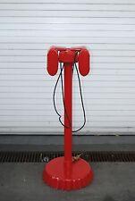Red Drive in Speakers w/ Bottle Cap Base