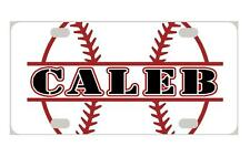 BASEBALL Personalized Kids MINI LICENSE PLATE Any Name Bicycles  ATVs  Door Sign