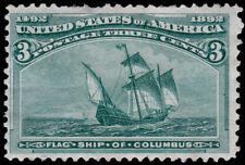 United States Scott 232 (1893) Mint NG F, CV $35.00 D