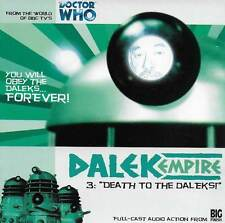 Doctor Who - Dalek Empire 3 - DEATH TO THE DALEKS - CD Audio Drama
