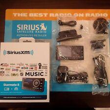 Sirius Starmate 8 Dock & Play Radio w/ Car Vehicle Kit Sealed! NEW