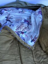 Vintage Coleman Sleeping Bag with Flying Ducks Pattern Interior #2