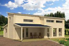 70 mm Ferienhaus Mekong ISO Blockhaus ca 755 x 1070 cm Holzhaus Gartenhaus Holz