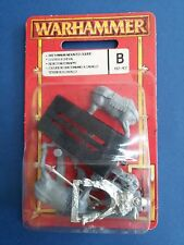 Warhammer Bretonnian Mounted Squire new in blister collector condition