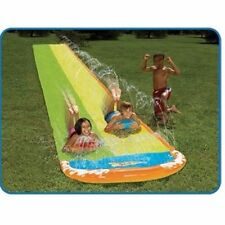 Dual Splash Super Slide X2 Inflatable Boogie Boards Plus Repair Kit Included