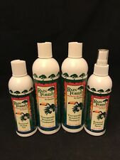 NEW Rain Forest Resources Equinox Hair Care System Lot 4 Shampoo Conditioner +