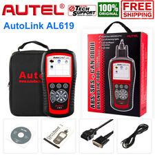 AUTEL AL619 Car ABS SRS Scanner Tool OBDII CAN Code Reader Diagnostic Engine