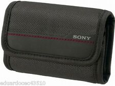 Sony camera Cybershot DSC-W T H S belt loop carrying case pouch strong velcro