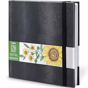 "8.3""x8.3"" Sketching Pad 200gsm/78 Sheet Artist Drawing Painting Marker Art Paper"