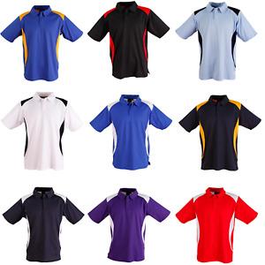 New Mens Truedry Winner Short Sleeve Work Casual Polo Sports Tshirt Top Shirt
