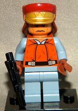 Star Wars Lego CAPTAIN PANAKA Mini-Figure Loose From Set 7961