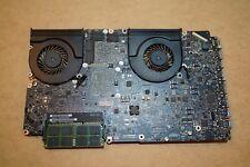 Macbook Pro A1297 17in 2010 i7 2.66 Logic Board with 8GB RAM, heatsink, Tested