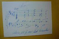 Kurt GRAUNKE (1915-2005) deutscher Komponist und Dirigent