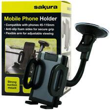 Teléfono Móvil Universal Coche Soporte De Parabrisas Panel de control de montaje de la Succión GPS PDA
