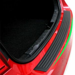 Accessories Rubber Sheet Car Rear Guard Bumper 4D Sticker Panel Protector Kit US