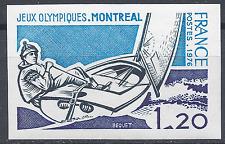 JEUX OLYMPIQUES DE MONTRÉAL N°1889 TIMBRE NON DENTELÉ IMPERF 1976 NEUF ** MNH
