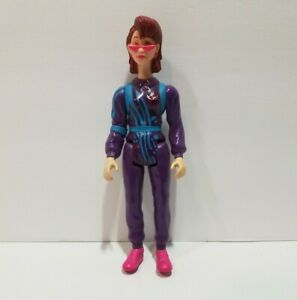 Vtg Kenner 1990 The Real Ghostbusters Power Pack Action Figure Janine Melnitz