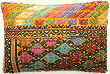 (40*60cm, 16*24cm) Textured handmade pillow cover thick brocaded weave on mustar