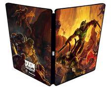 PS4 DOOM Eternal Collector's Edition Original Steel book Case Only GEO LTD