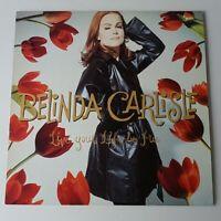 Belinda Carlisle - Live Your Life Be Free - Vinyl LP UK 1st Press 1991 EX/NM