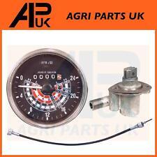 Massey Ferguson 35 35X Tractor Tachometer + Tacho Angle Drive Unit + Rev Cable