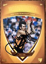 2011 SELECT AFL HAWTHORN HERITAGE CARD NO. 34 PERSONALLY SIGNED JASON DUNSTALL