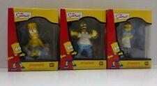 Lot of 3 Different Simpson's Ornaments Bart Homer Moe NIB