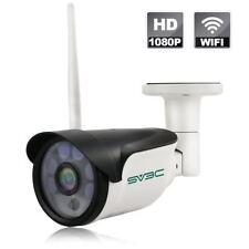 Sv3C Full Hd 1080P Wifi Wireless Security Camera Outdoor, Aluminum Metal