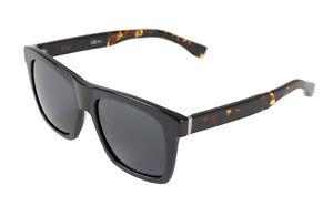 BOSS Orange Sonnenbrille BO 0336/S 807 Kunststoff Schwarz Havana Glas Grau