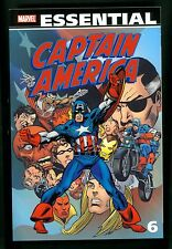 Marvel Essential ~ Captain America Vol 6 ~ Softcover 1st Printing ~ Marvel 2011