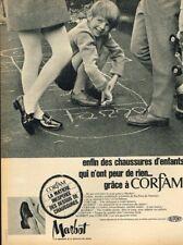 G- Publicité Advertising 1969 Les Chaussures pour enfants Marbot Corfam
