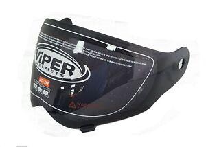 VIPER RX-V288 RXV288 DARK COLOURED BLACK SMOKED TINTED VISOR