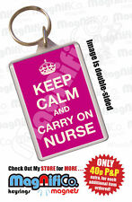 Rectangle Plastic Occupational Collectable Keyrings