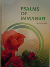 New Psalms of Immanuel christian poem poetry encouragement book