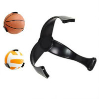 Black Wall-Mount Display Soccer Football RackClaw Basketball Storage Ball-Holder