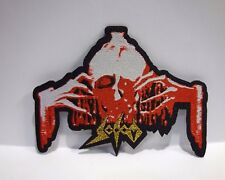 sodom obsessed by cruelty  WOVEN PATCH