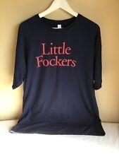 Mens Little Fockers Movie Tie In Navy Blue Short Sleeve Cotton Graphic Tshirt XL