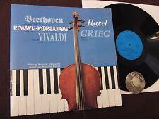 LP Vivaldi Sonate für Violincello Klavier Wolfgang Ursula Trede-Boettcher | EX