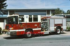 Fire Apparatus Slide, Engine 2553, Oakland / CA, 1997 Pierce