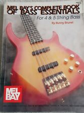 Bunny Brunel Complete Bk 4 & 5 String Bass Variety Topics Unmarked