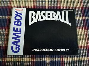Baseball - Authentic - Nintendo Game Boy - Manual Only! (DMG-BS-USA-1)