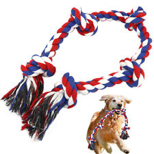 Cotton Rope Dog Toy for Aggressive Chewer Teething Chew Toy for Medium Large Dog
