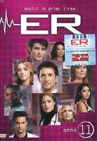 Serie TV DVD usato pari al nuovo ER MEDICI IN PRIMA LINEA stagione 11