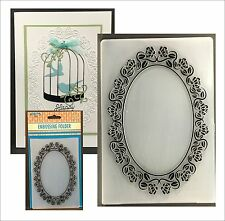 ROSES FRAME embossing folder EFE021 Nellie Snellen Embossing folders flowers