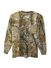 Realtree Mens Adults Long Sleeve T-Shirt Top Shooting Fishing New Warm RRP £25